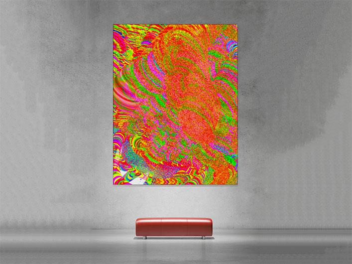 Sie sehen eine Kunstausstellung mit Free Form° 18.