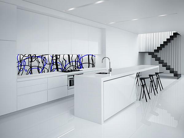 Sie sehen eine Küchengestaltung im Design von Free Form° 8.
