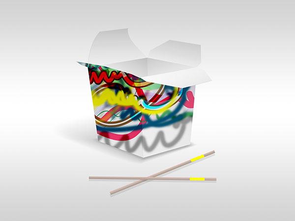 Sie sehen eine Verpackungsgestaltung mit dem Design von Free Form° 102.