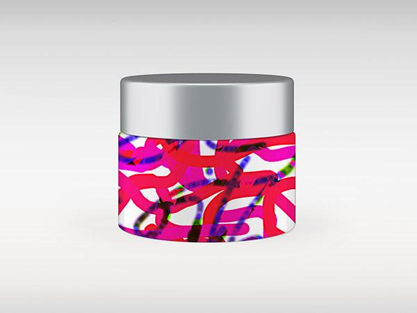 Sie sehen eine Verpackungsgestaltung im Design von Free Form° 10.